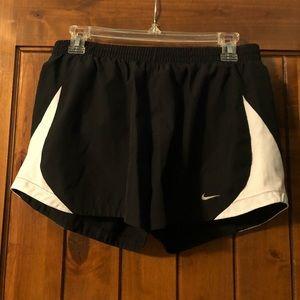 Black Nike Running Shorts